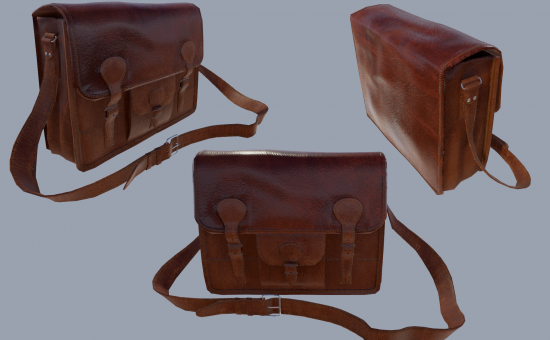 Satchel rendered in Unreal Engine 4
